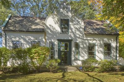 Brookline Single Family Home For Sale: 285 Goddard Ave