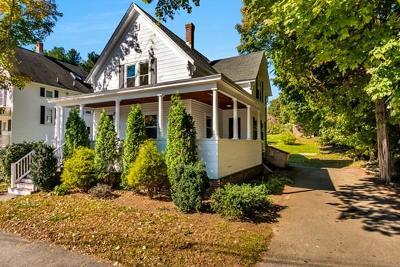 Hudson Single Family Home Under Agreement: 88 Packard St