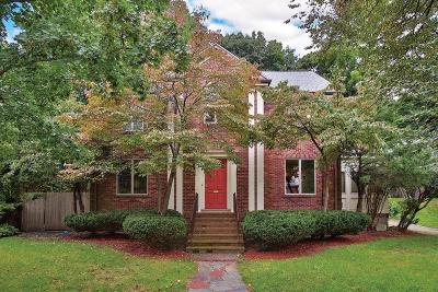 Brookline Single Family Home Under Agreement: 75 Somerset Rd