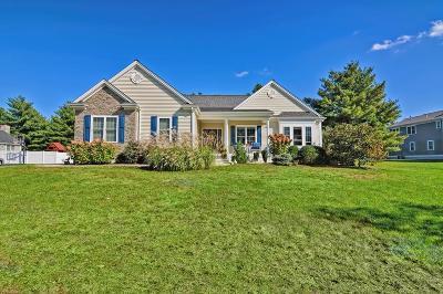 Attleboro Single Family Home Contingent: 66 Brigham Hill Rd