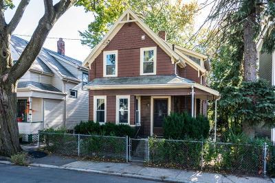 Somerville Single Family Home Under Agreement: 5 Fremont Avenue