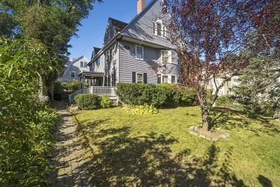 MA-Suffolk County Single Family Home Under Agreement: 29 Percival St