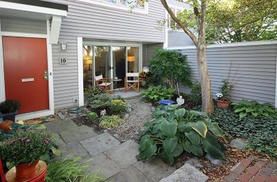 Cambridge Condo/Townhouse Under Agreement: 10 Fresh Pond Place #10