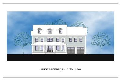 Needham Single Family Home For Sale: 76 Riverside St