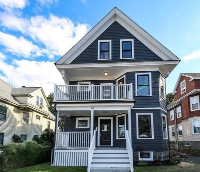 Condo/Townhouse Under Agreement: 34 Colberg Avenue #1