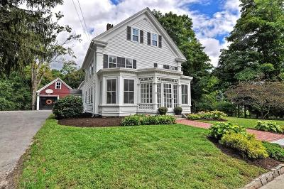 Holliston Single Family Home Under Agreement: 29 Concord Street