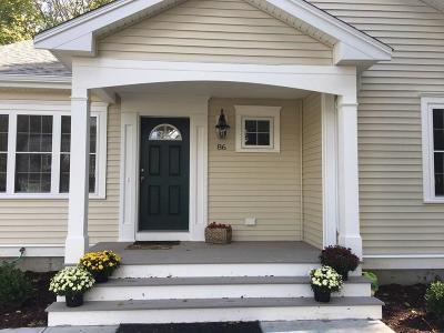 Middleboro Rental Under Agreement: 86 West St