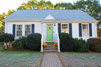 Dedham Single Family Home Under Agreement: 254 Madison St