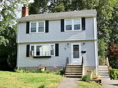 Waltham Single Family Home For Sale: 124 Westgate Road