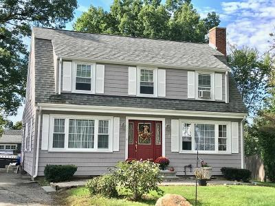Waltham Single Family Home Under Agreement: 15 Cunningham Circle
