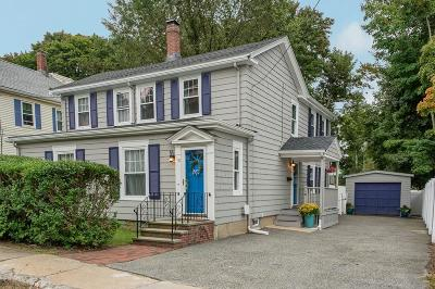 Woburn Single Family Home Contingent: 18 Sturgis St