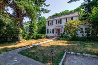 Newton Single Family Home Under Agreement: 2075 Beacon Street