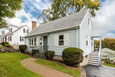Waltham Single Family Home Under Agreement: 43 Upland Road