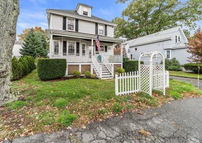 Braintree Single Family Home Under Agreement: 307 Hancock St