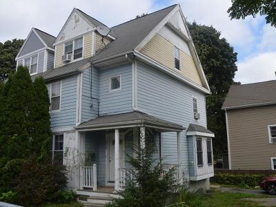 Boston MA Single Family Home Contingent: $291,090