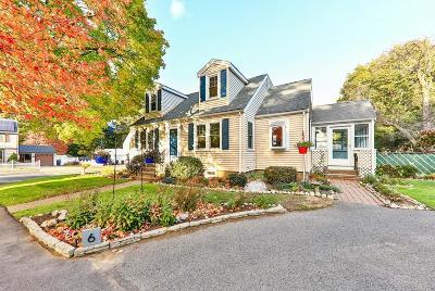 Dedham Single Family Home Contingent: 6 Kimball Rd