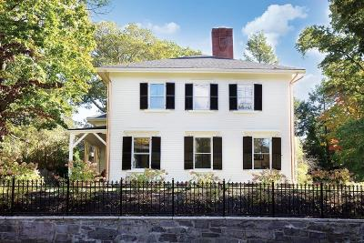 Brookline Single Family Home Under Agreement: 138 High St