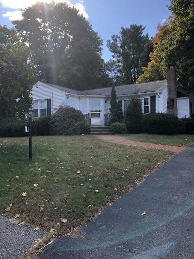 Waltham Single Family Home Under Agreement: 105 Greer St
