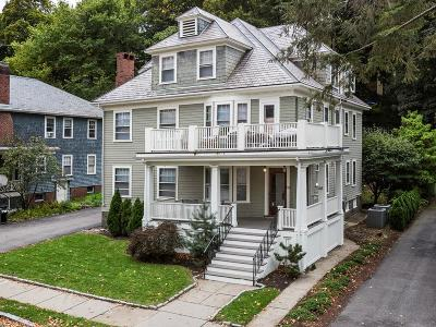Brookline Multi Family Home For Sale: 66-68 Columbia Street