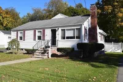 Braintree Single Family Home Contingent: 27 Livoli Ave