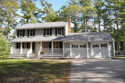 Marshfield Single Family Home Under Agreement: 72 Dedham Rd