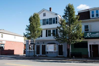 MA-Norfolk County Commercial For Sale: 523 Washington St