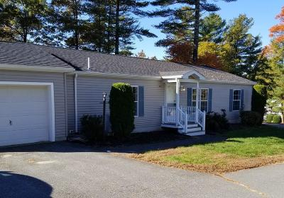 Middleboro Single Family Home Under Agreement: 4602 Oak Point Drive