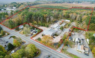 MA-Bristol County Commercial For Sale: 409, 413, 42 Turnpike