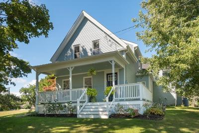 Plymouth Single Family Home Under Agreement: 40 Manomet Point Rd