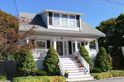 Braintree Single Family Home Under Agreement: 19 Fairfield St
