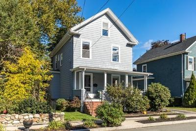 Melrose Single Family Home Under Agreement: 15 Otis Street