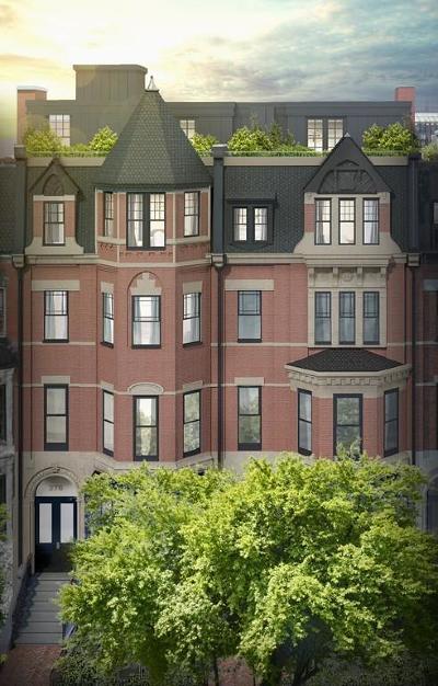 Condo/Townhouse For Sale: 276 Newbury Street #1-3