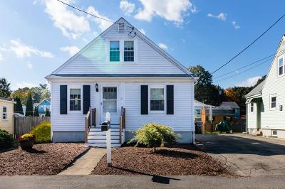 Dedham Single Family Home Under Agreement: 31 Grandfield St
