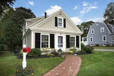 Cohasset MA Single Family Home For Sale: $879,900