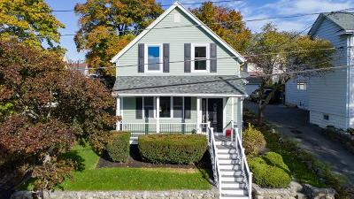 Melrose Single Family Home Under Agreement: 26 1st St.