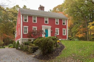 Holliston Single Family Home For Sale: 235 Hanlon Rd