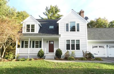 Mansfield Single Family Home Contingent: 11 Horseshoe Loop