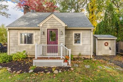 Beverly Single Family Home Contingent: 71 Lakeshore Ave