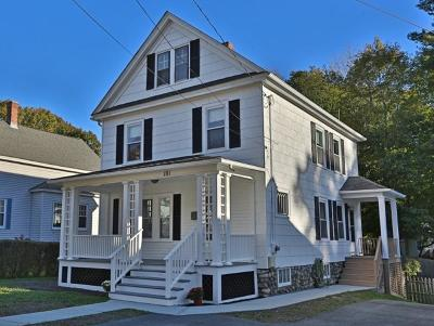 Andover Single Family Home For Sale: 101 Summer Street