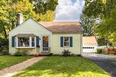 Waltham Single Family Home Under Agreement: 64 Potter Rd