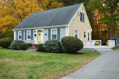 Abington Single Family Home Contingent: 17 Bay State Cir