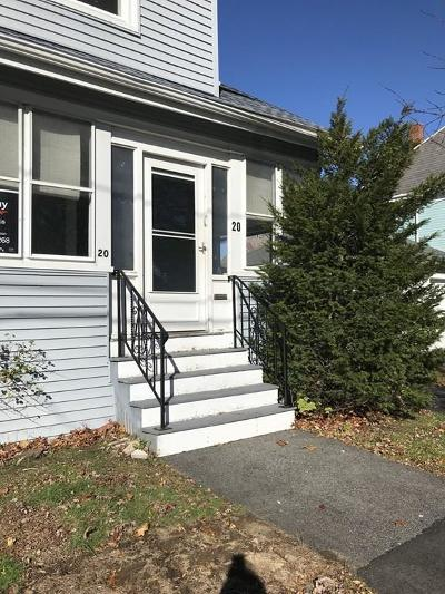 Quincy Single Family Home For Sale: 20 Walker Street