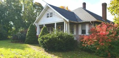Whitman Single Family Home Under Agreement: 38 Plymouth St