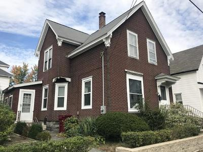 Lowell Single Family Home Under Agreement: 45 C St