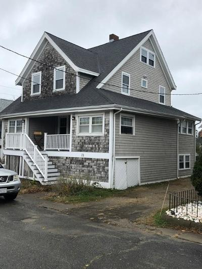 Hull Single Family Home Contingent: 73 F St
