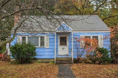 Tewksbury Single Family Home Contingent: 17 Kevin St
