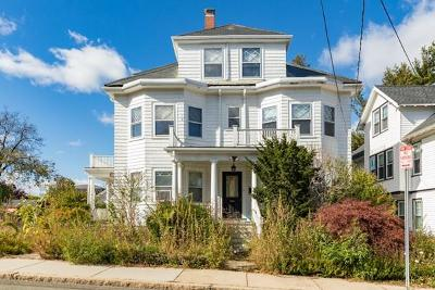 Somerville Multi Family Home Under Agreement: 8 Sycamore St