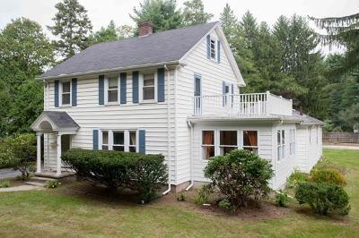 Framingham Single Family Home Under Agreement: 345 Edgell Rd