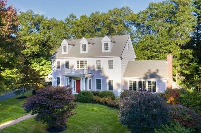 Norwell Single Family Home Contingent: 3 Brattle Rd