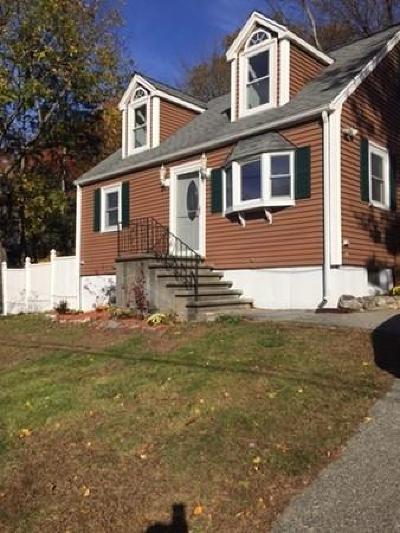 Billerica Single Family Home Under Agreement: 32 Fox Hill Rd